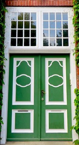 Tür zum eigenen Haus über Baufinanzierung