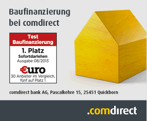 Baufinanzierung comdirect Bank
