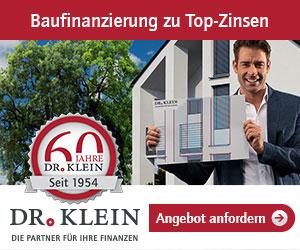 Dr. Klein Baufinanzierung Angebot
