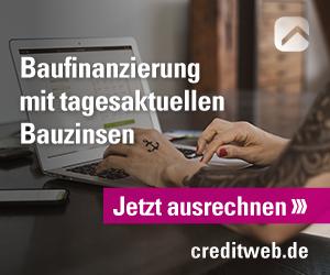 Creditweb Baufinanzierung Vergleich